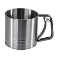 Salt 3-Cup Stainless Steel Flour Sifter