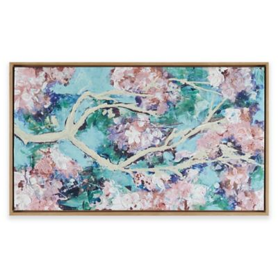 Madison Park® Blossoming Dream Hand Embellished Wall Art In Pink