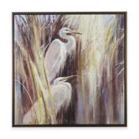 Madison Park® Signature Seaside Egrets Hand Embellished Canvas Wall Art