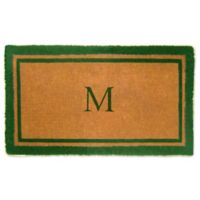 Nature Mats by Geo 24-Inch x 39-Inch Double Border Door Mat in Imperial Green