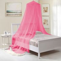 Kids' Collapsible Wire Hoop Canopy in Hot Pink