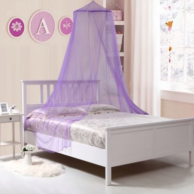 Kidsu0027 Collapsible Wire Hoop Canopy in Purple & Buy Purple Bed Canopy from Bed Bath u0026 Beyond