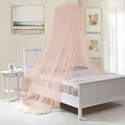 Kidsu0027 Collapsible Wire Hoop Canopy in Pink & Buy Hanging Canopy from Bed Bath u0026 Beyond