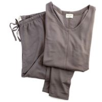 Delilah Large Long-Sleeved Loungewear Set in Slate