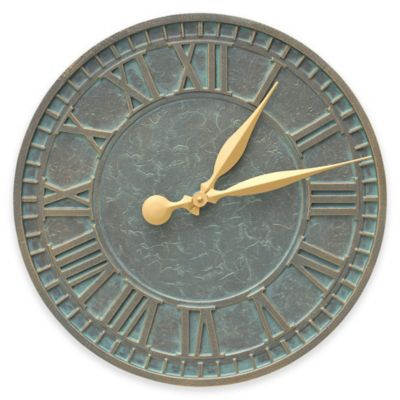 Buy Geneva Wrought Iron Wall Clock From Bed Bath Amp Beyond