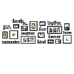 "WallVerbs® 22-Piece ""Family Is"" Photo Frame Set"