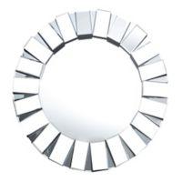 Abbyson Living® Portico 35.5-Inch Round Wall Mirror