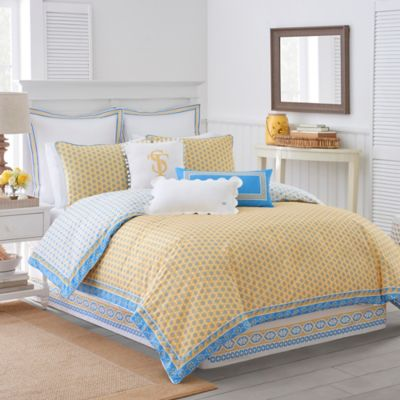 Buy Yellow King Comforter Sets From Bed Bath Beyond - Blue and yellow comforter sets king
