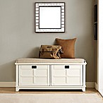 Crosley Adler Entryway Bench in in White