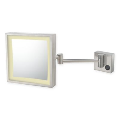 Buy Kimball Amp Young 3x Led Magnifying Mirror In Brushed