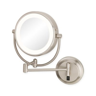 Kimball Young Neomodern 1x 5x Magnifying Mirror In Brushed Nickel