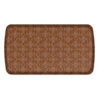 GelPro Elite Decorator Damask 20-Inch x 36-Inch Kitchen Mat in Nutmeg