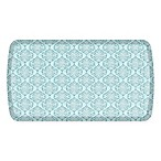 GelPro Elite Decorator Damask 20-Inch x 36-Inch Kitchen Mat in Lagoon
