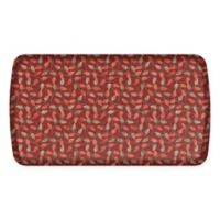 GelPro Elite Decorator New Leaves 20-Inch x 36-Inch Kitchen Mat in Spiced Apple