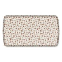 GelPro Elite Decorator New Leaves 20-Inch x 36-Inch Kitchen Mat in Oatmeal