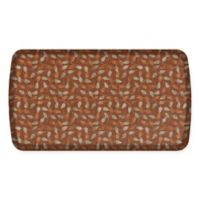 GelPro Elite Decorator New Leaves 20-Inch x 36-Inch Kitchen Mat in Amber