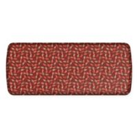 GelPro Elite Decorator New Leaves 20-Inch x 48-Inch Kitchen Mat in Spiced Apple