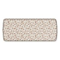GelPro Elite Decorator New Leaves 20-Inch x 48-Inch Kitchen Mat in Oatmeal