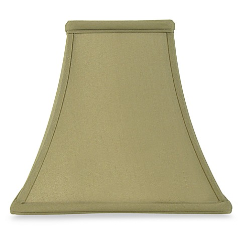 Mix And Match Square Bell Shaped Sage Lamp Shade Bed