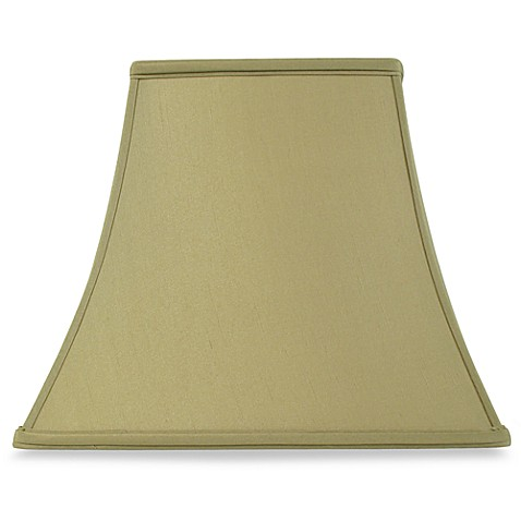 Mix and Match Square Bell-Shaped Sage Large Lamp Shade