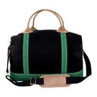 CB Station Color Weekender Bag in Black/Emerald