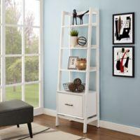 Crosley Furniture Landon Large Etagere in White