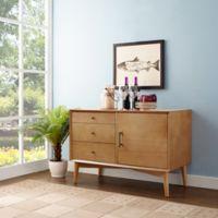 Crosley Furniture Landon Media Console in Acorn