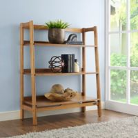 Crosley Furniture Landon Bookcase in Acorn