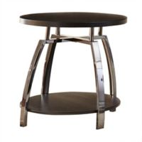 Steve Silver Co Coham End Table in Dark Brown