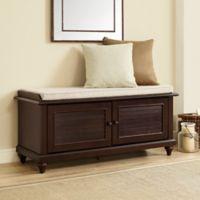 Crosley Furniture Palmetto Bench in Espresso