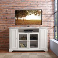 Crosley Furniture Campbell TV Stand in White