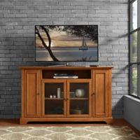 Crosley Furniture Campbell TV Stand in Oak