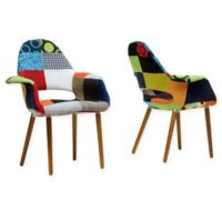 Baxton Studio Forza Arm Chairs (Set of 2)