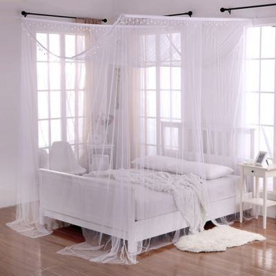 White Canopy Beds buy bedroom canopies from bed bath & beyond