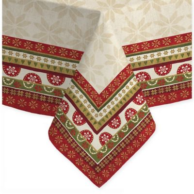 Buy laural home geometric christmas 60 inch x 120 inch for 120 table runner christmas