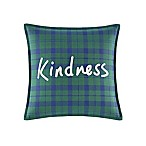 ED Ellen DeGeneres Embroidered Kindness Mini Throw Pillow in Green