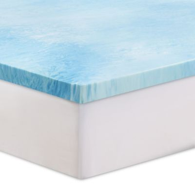 Serta 3 Inch Gel Swirl Memory Foam Full Mattress Topper