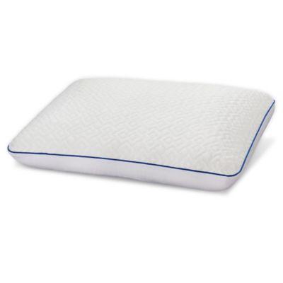 serta gel memory foam pillow with cover