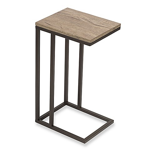 C table with metal base bed bath beyond for Bless home furniture outlet
