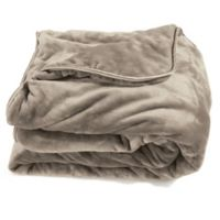 Brookstone® Sleep Tight™ Weighted Blanket in Taupe
