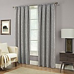 Pinehurst 63-Inch Rod Pocket Window Curtain Panel in Fog