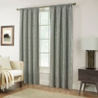 Pinehurst 108-Inch Rod Pocket Window Curtain Panel in Spa