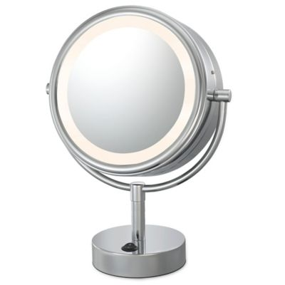 Kimball   Young Neo Modern 1X 5X LED Makeup Mirror in Chrome. Buy Makeup Mirrors from Bed Bath   Beyond