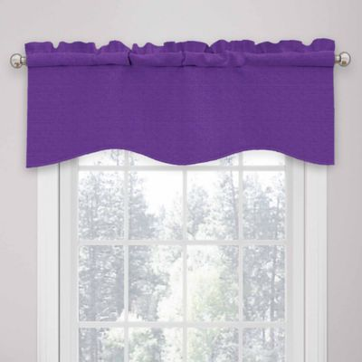 Buy Purple Valance From Bed Bath Amp Beyond