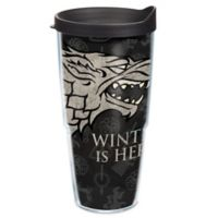 """Tervis® Game of Thrones Stark """"Winter is Here"""" 24 oz. Wrap Tumbler with Lid"""