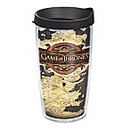 "Tervis® ""Game of Thrones"" Westeros Map 16 oz. Wrap Tumbler with Lid"