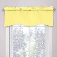 SolarShield® Kate Rod Pocket Room Darkening Valance in Lemon