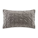INK+IVY Jane Oblong Throw Pillow in Taupe