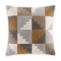 INK+IVY Neve Square Throw Pillow in Neutral
