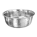 Neater Pet Brands® 64 oz. Hammered Stainless Steel Large Pet Bowl